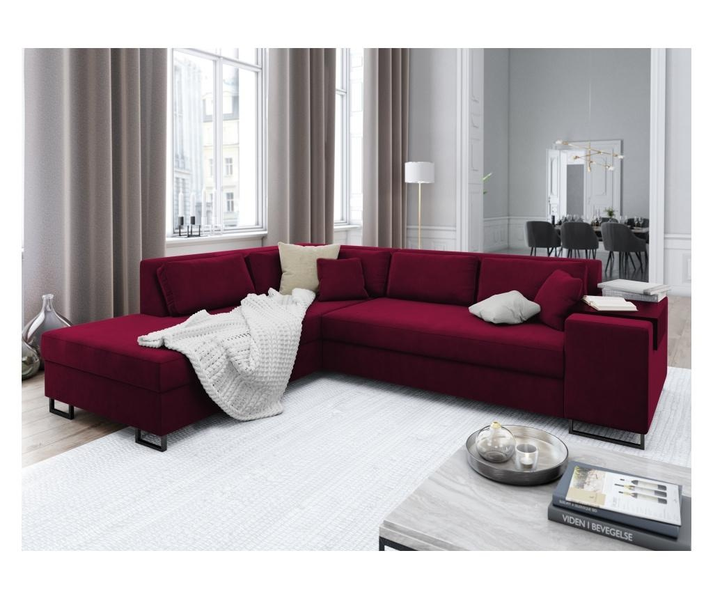 Coltar extensibil stanga York Red