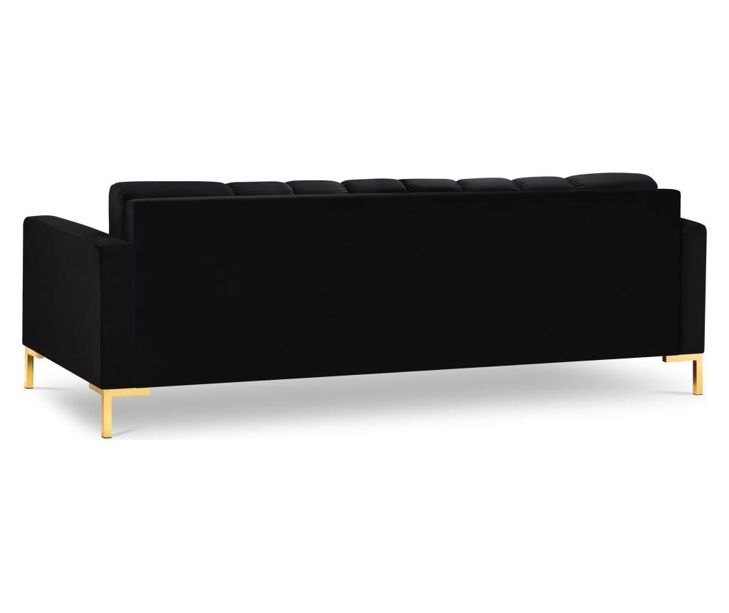 Sofa trosjed Bali Black