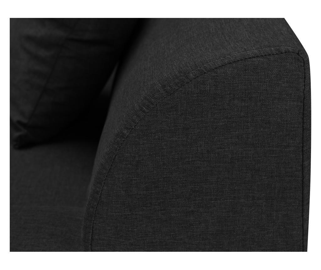 Coltar extensibil dreapta Madison Dark Grey