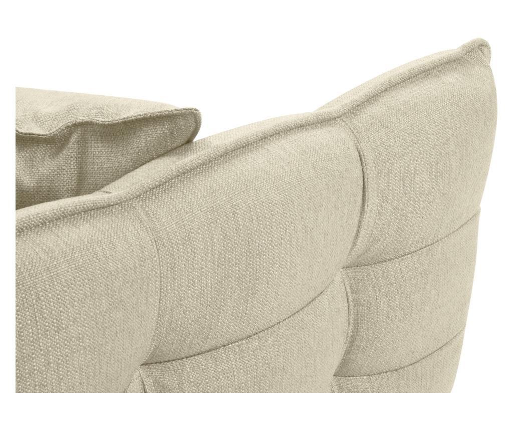Canapea extensibila cu 3 locuri Canna Beige