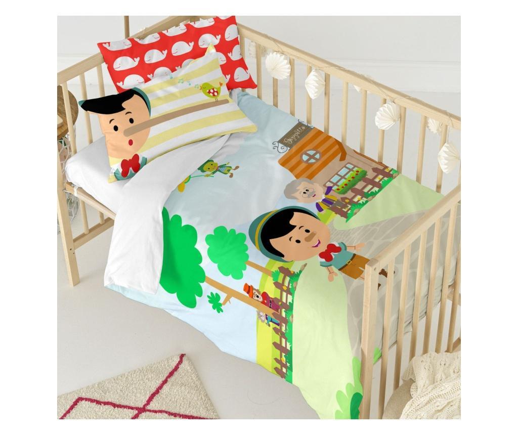 Posteljina za krevetić Wooden Puppet Uni