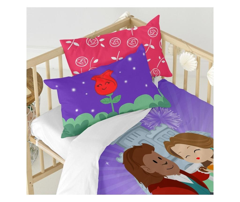 Posteljina za krevetić Magic Rose Uni
