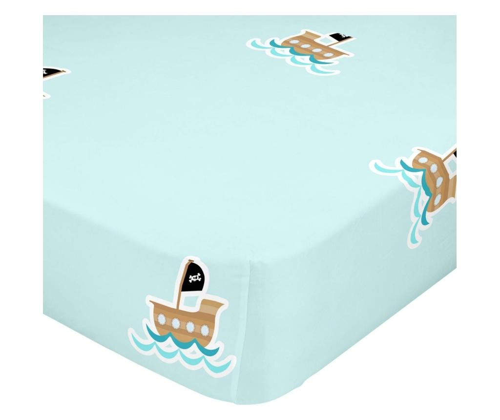 Flying Boy Boat Matracvédő 70x140 cm