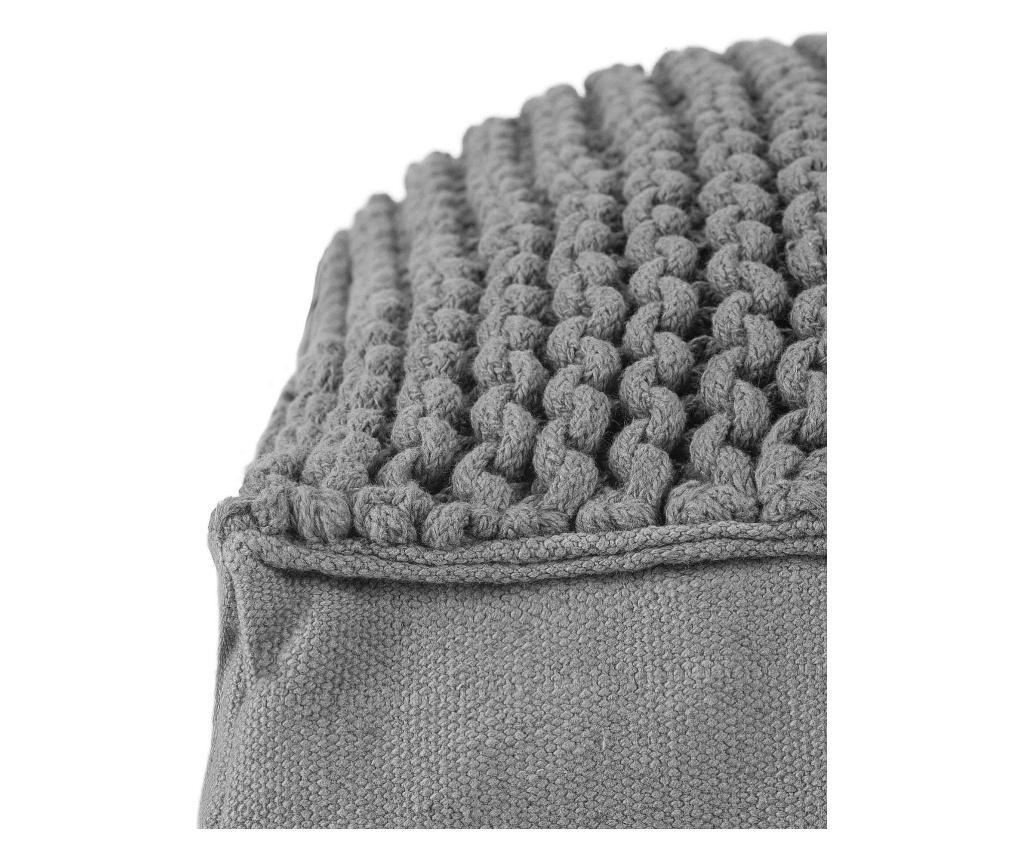 Atel Knit Light Grey Padlópárna 60x60 cm