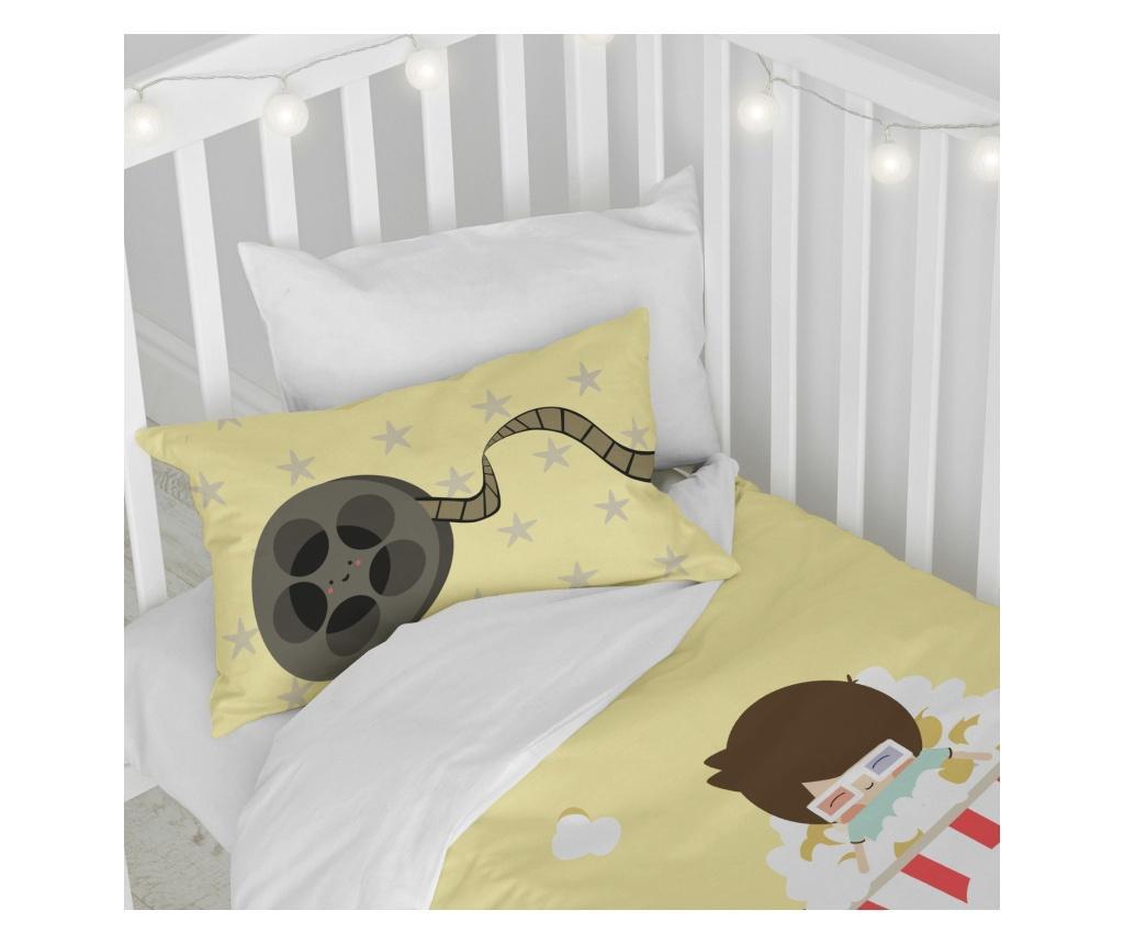 Posteljina za krevetić Pop Corn Simple