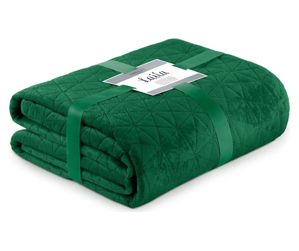 Prošiveni prekrivač Laila Jade Green 170x270 cm