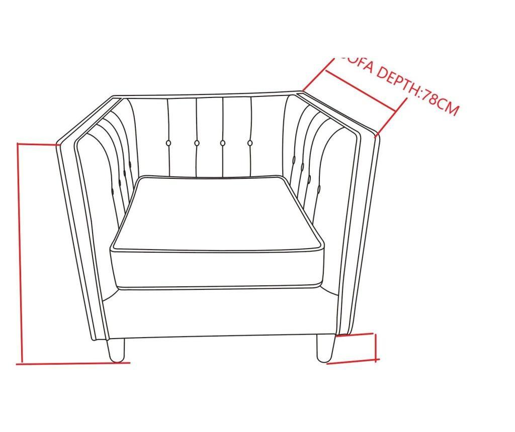 Korb Fotel