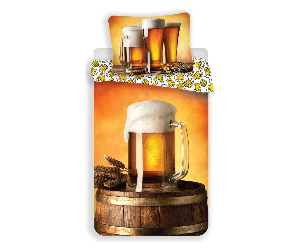 Set de pat Single Ranforce Beer