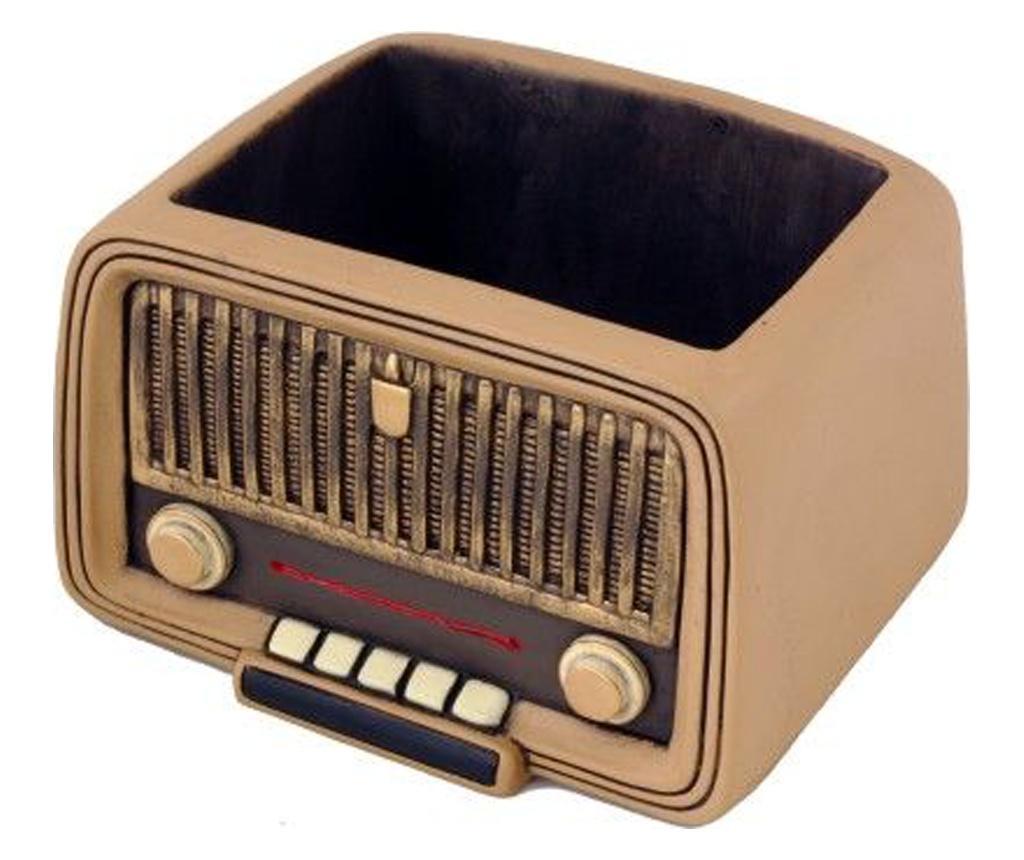 Vintage Radio Virágtartó