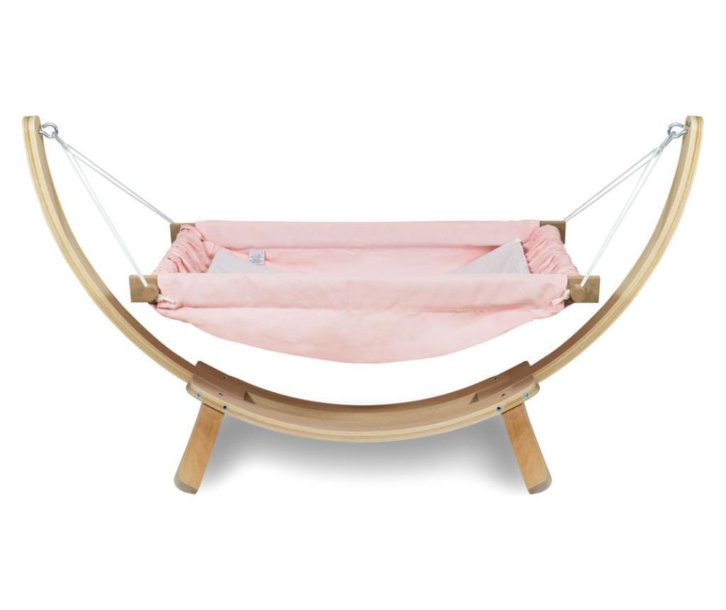 Hamac pentru copii cu suport Bliss Pink