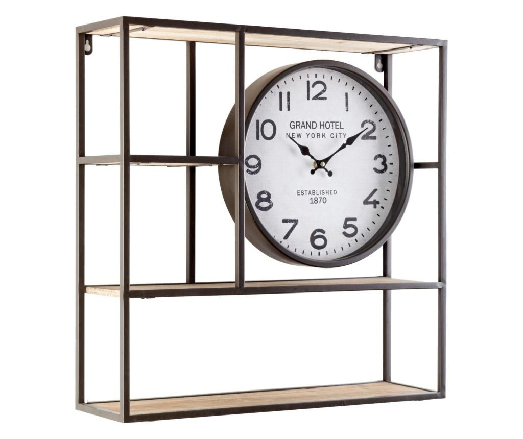 Półka z zegarem
