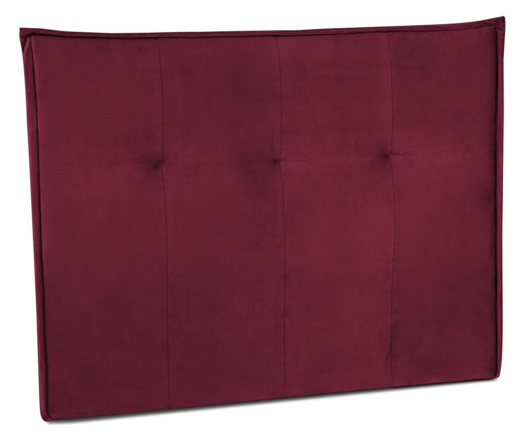 Čelo postele Monica Bordeaux 200x120 cm