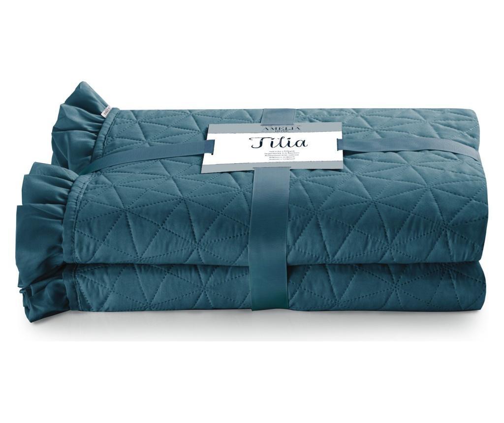 Prošiveni prekrivač Tilia Marine 240x260 cm