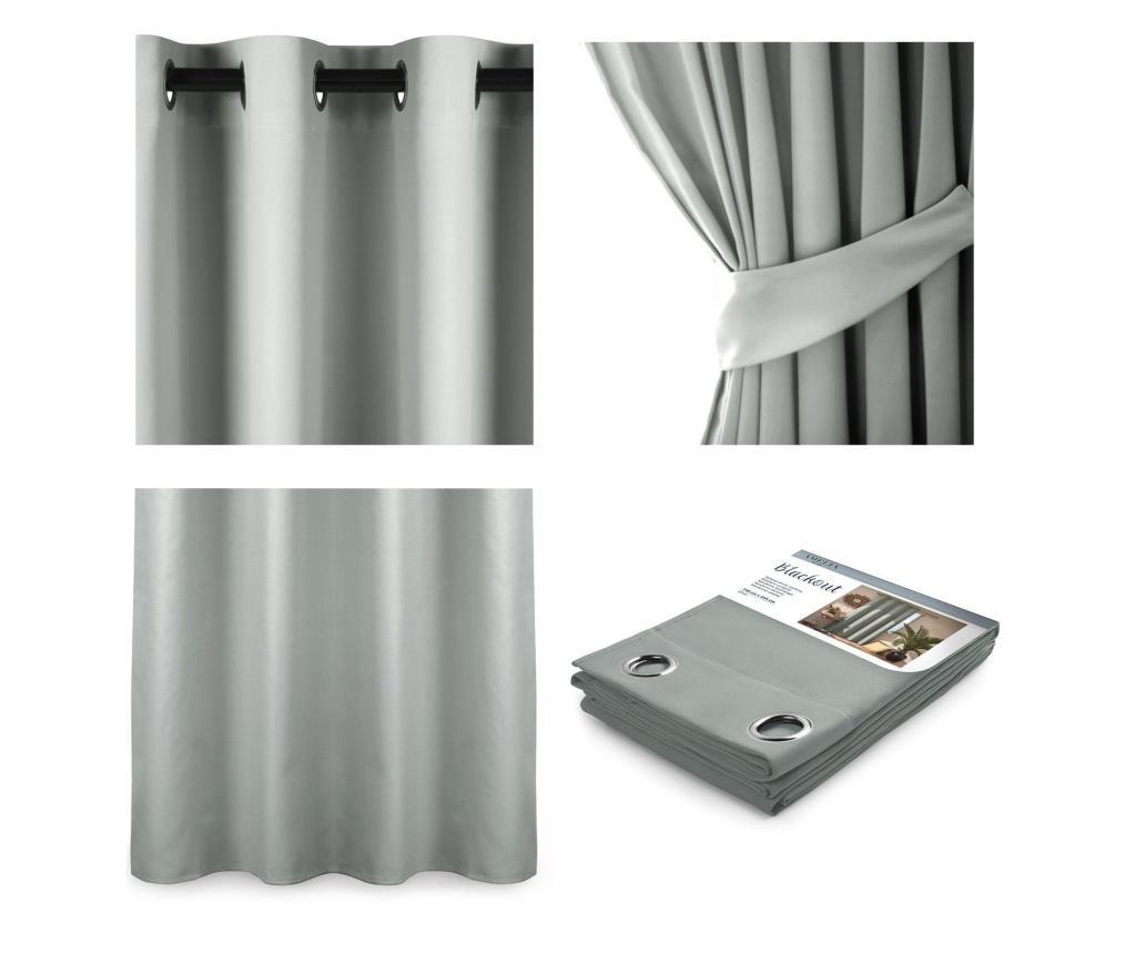 Draperie Blackout Silver 140x245 cm