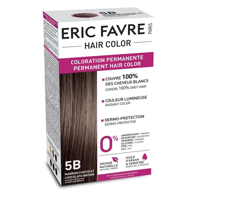 Eric Favre Hair Color Vopsea de par 5B Saten ciocolatiu