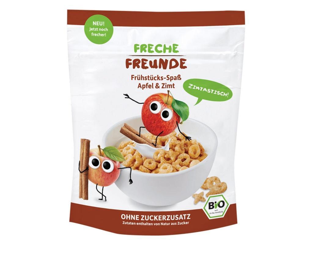 Erdbar Cereale pt. mic dejun cu mere si scortisoara bio 125g - de la 1an