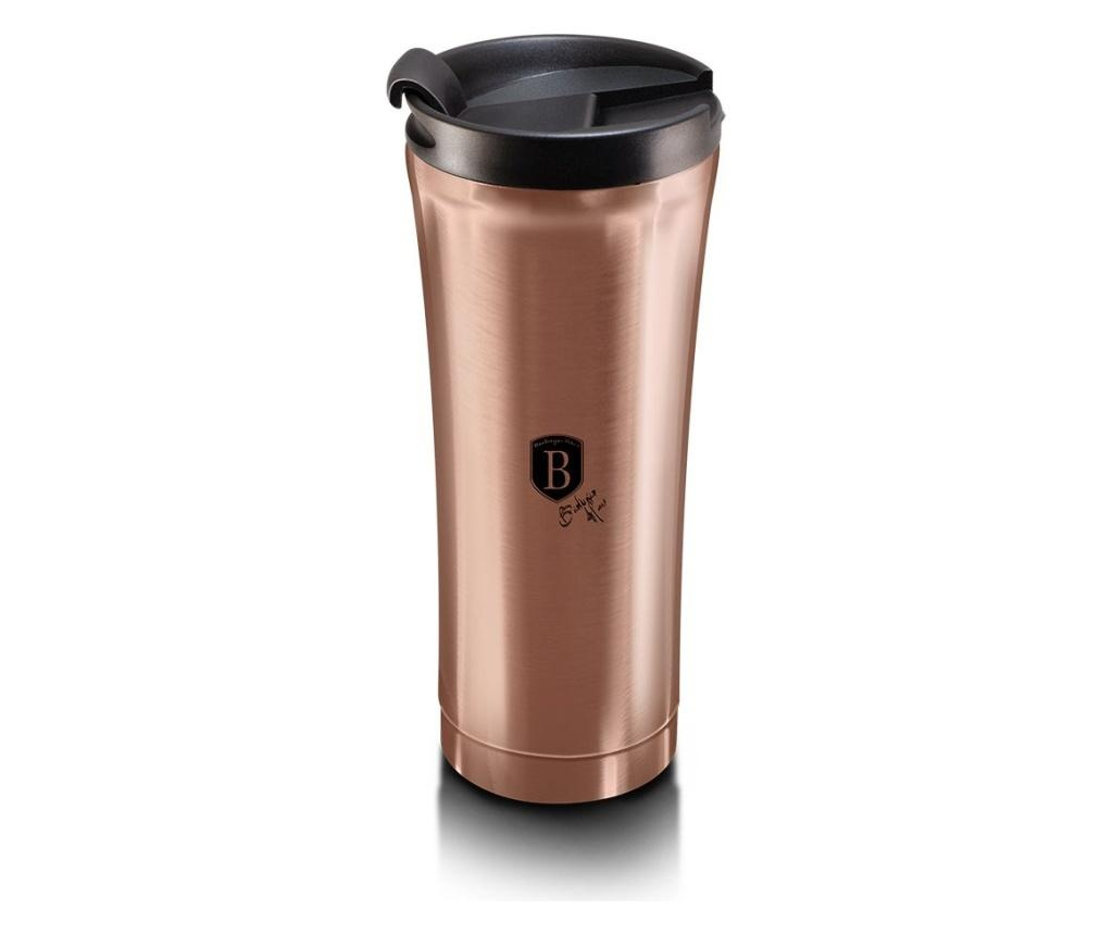 Cana cafea Metallic Line- Rose Gold