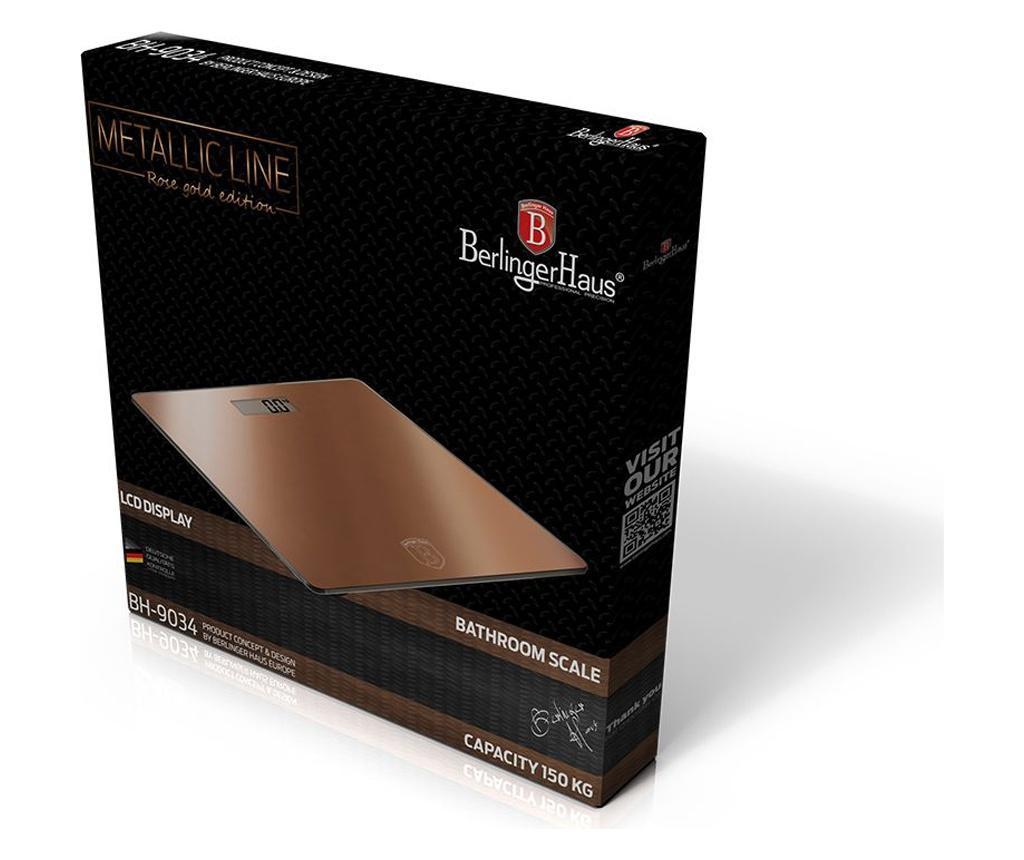 Metallic Line- Rose Gold Fürdőszobai mérleg