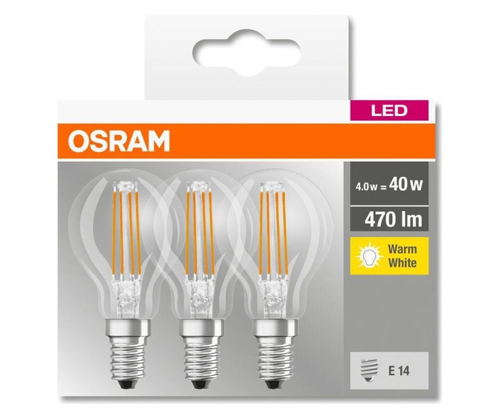 Комплект 3 крушки с LED