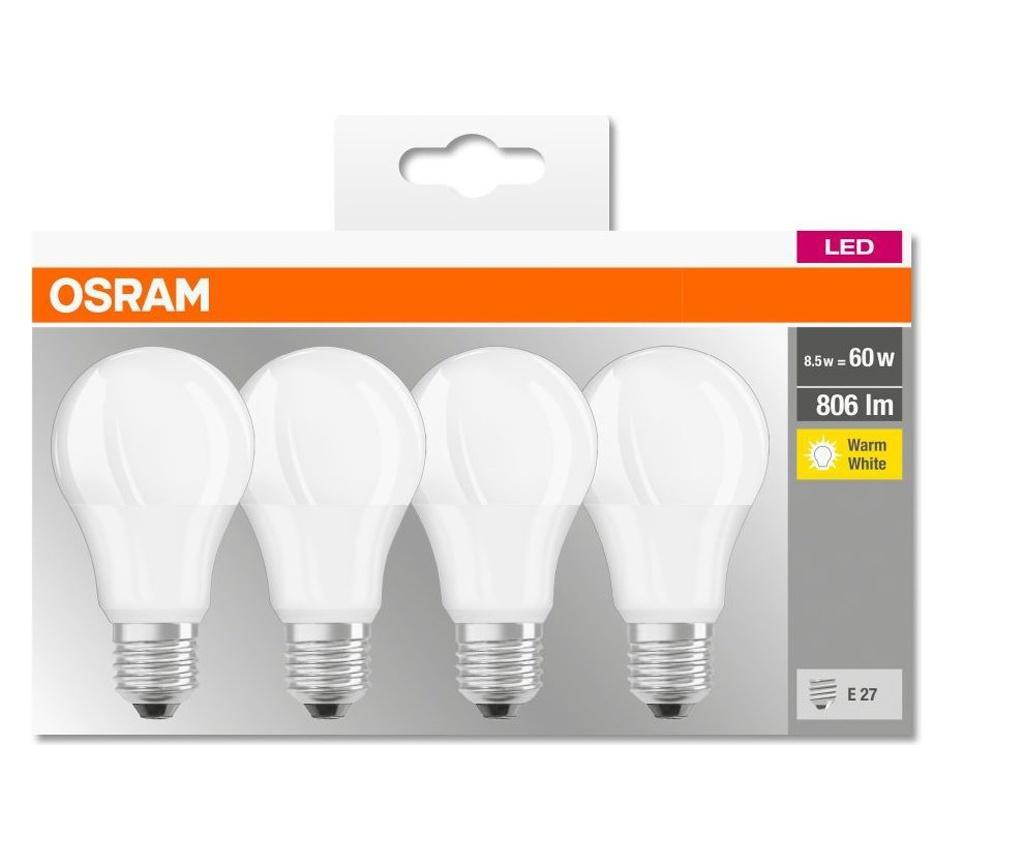 Комплект 4 крушки с LED