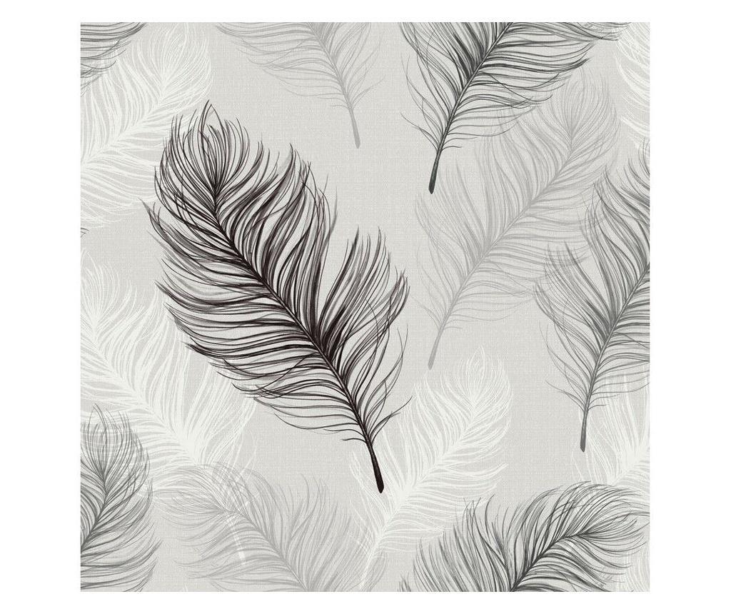 Tapet Whisper Black 53x1005 cm