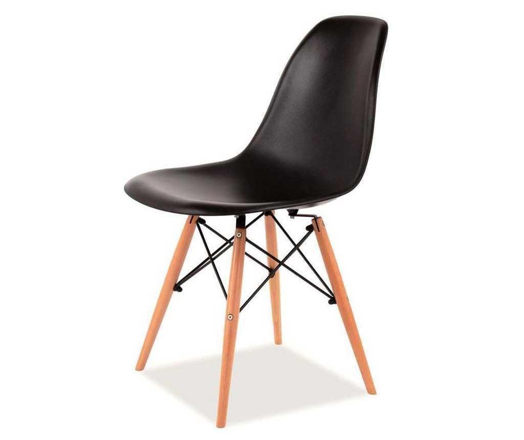 Καρέκλα Lombardo Me Black
