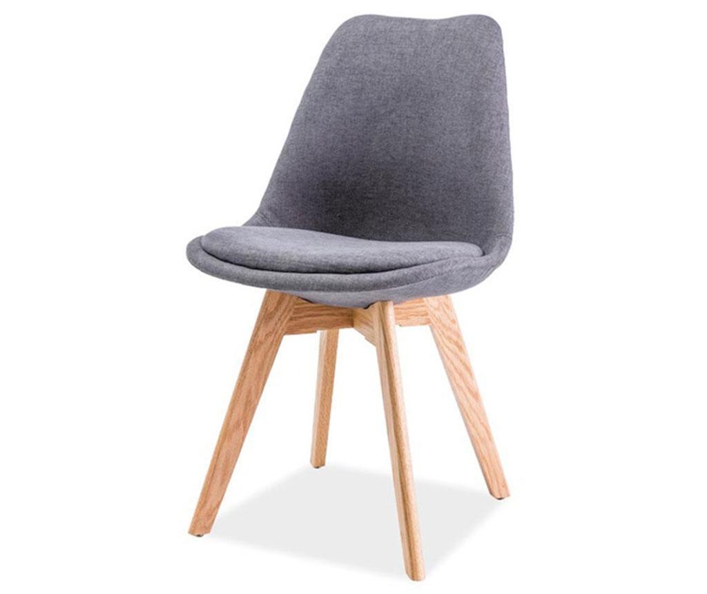 Krzesło Iris Beech Dark Grey