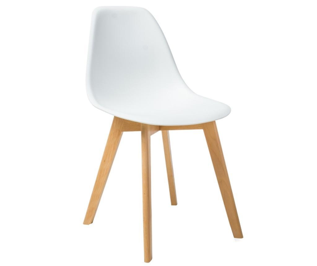 Židle Kas White