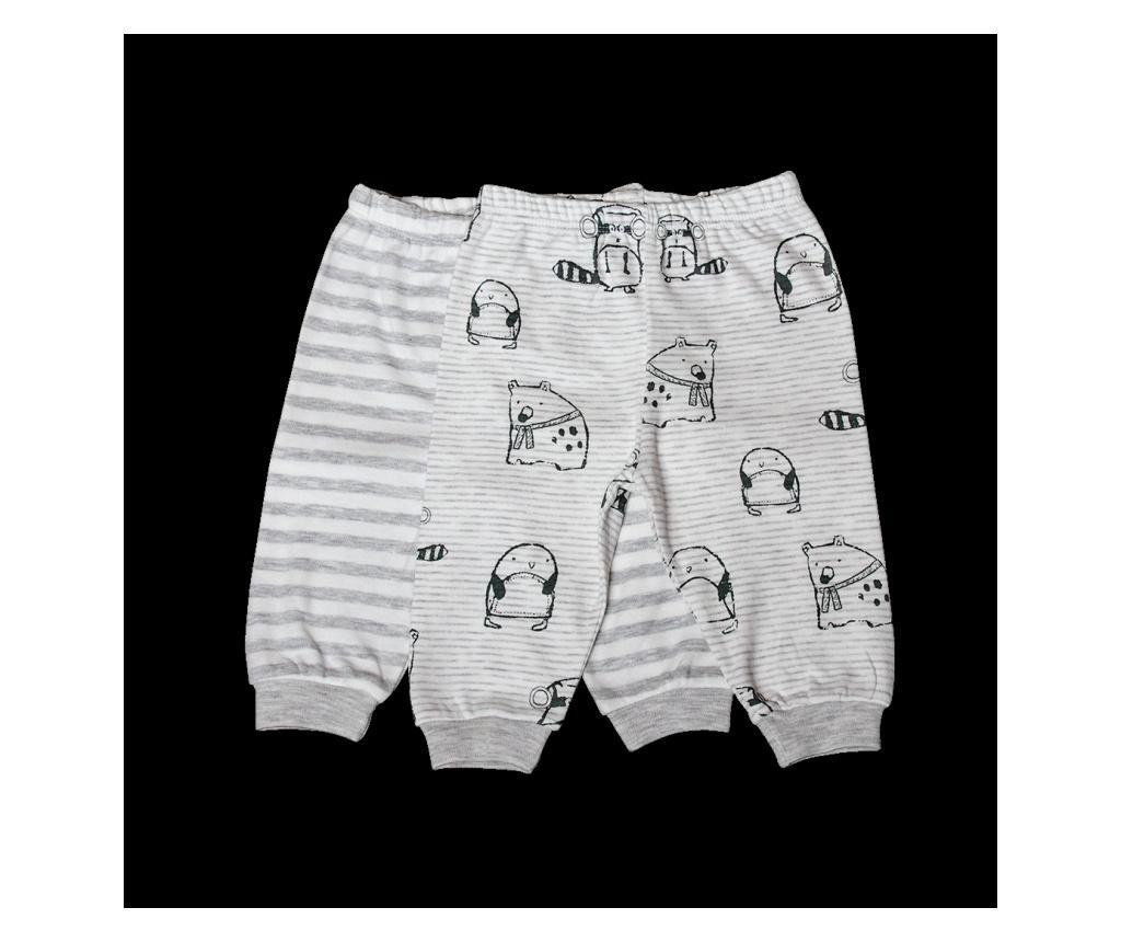 Set 2 perechi de pantaloni pentru baieti  12-18 months