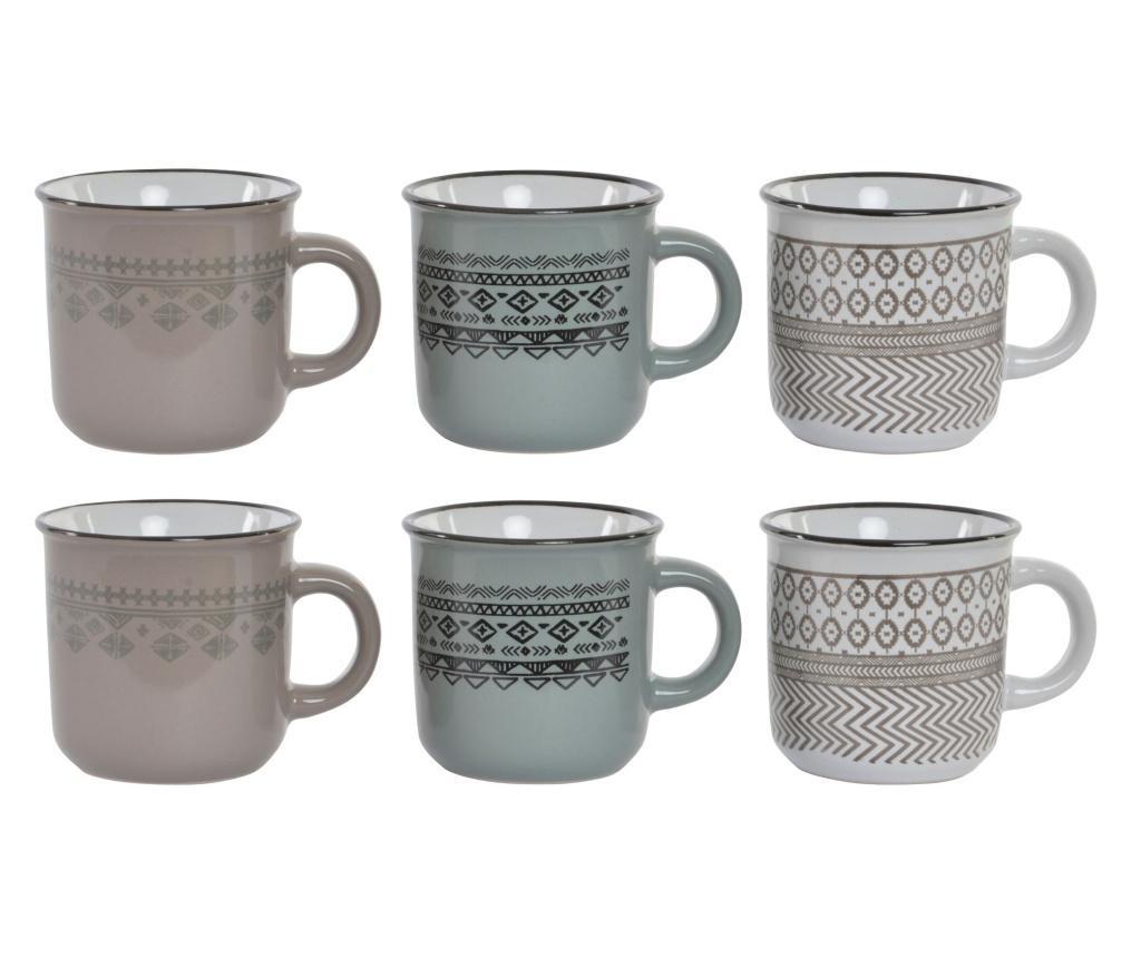Set 6 cesti pentru cafea
