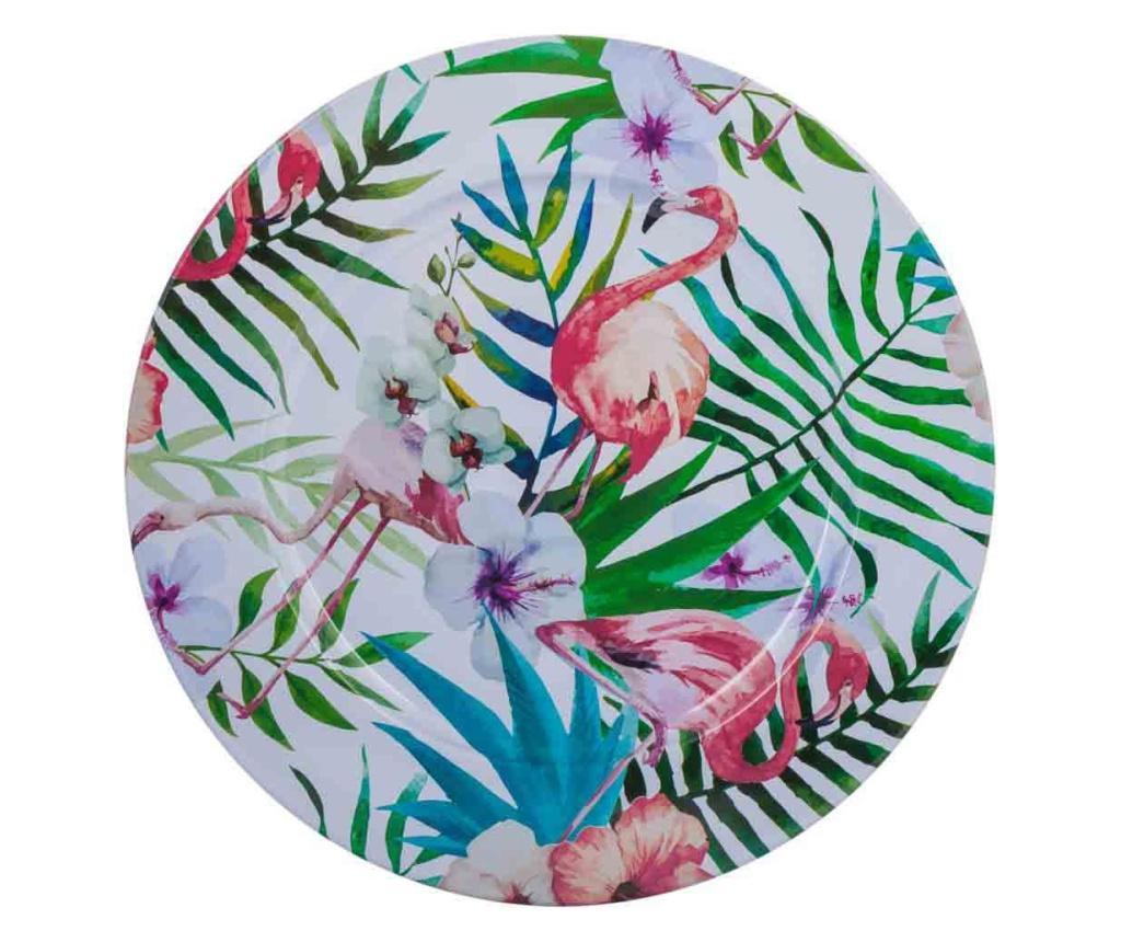 Dekorativni servirni krožnik Flamingo