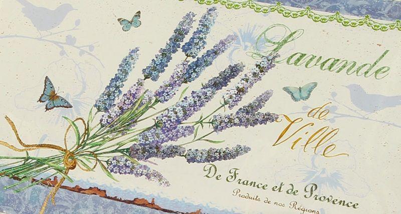 Set 2 tavi pentru servire Lavender