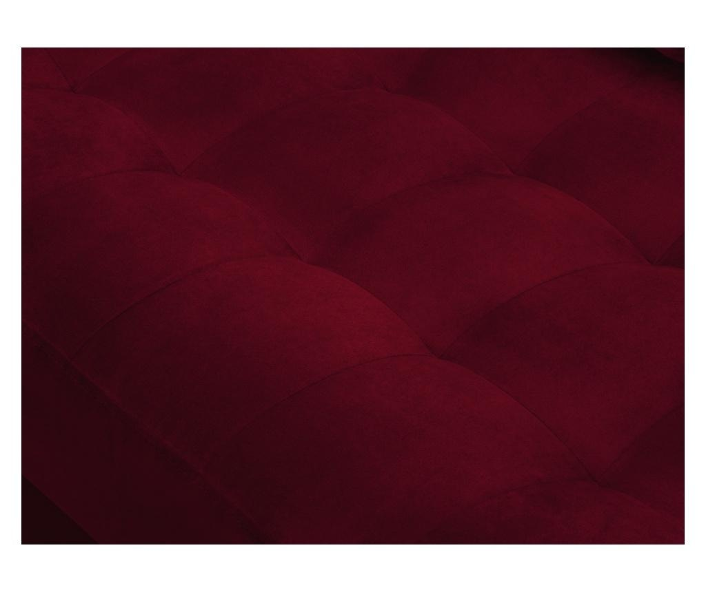 Coltar stanga Velvet Giulietta Red