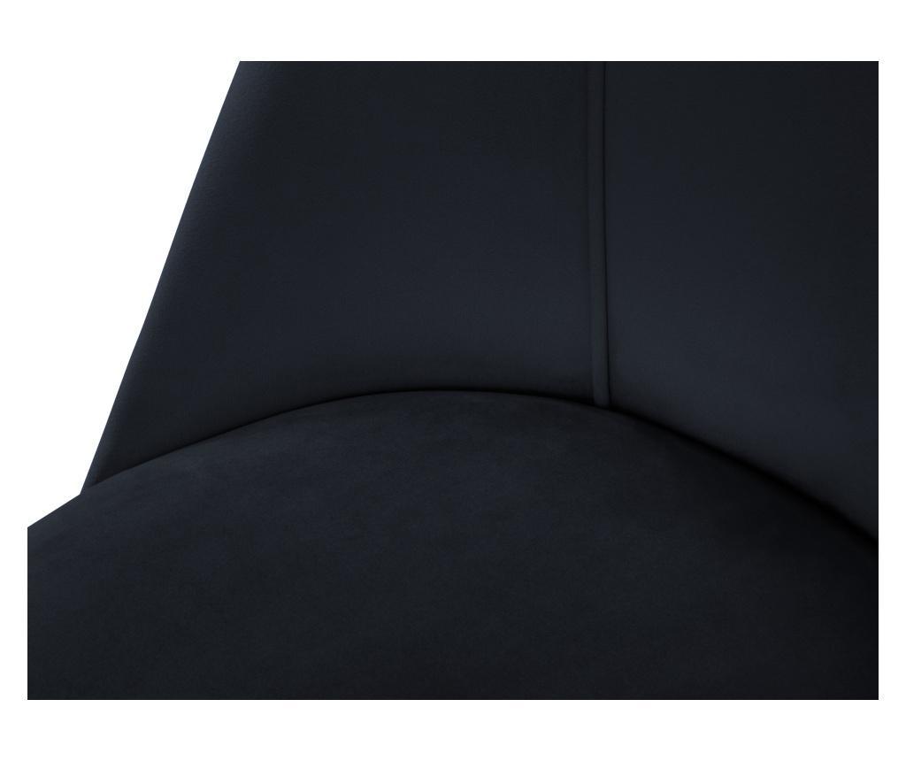 Scaun Velvet Sonata Dark Blue