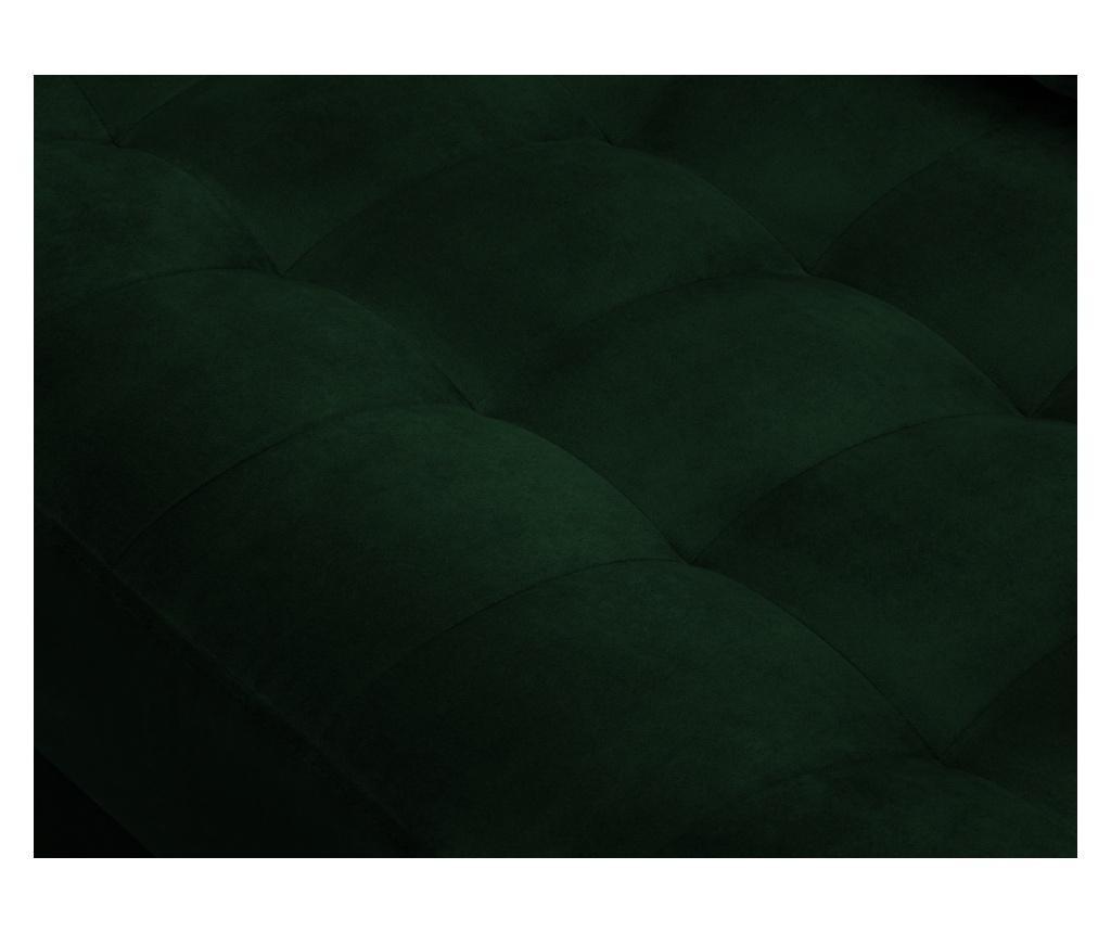 Coltar stanga Velvet Giulietta Bottle Green