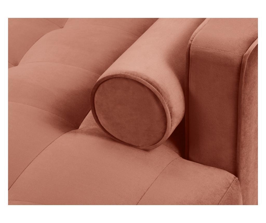 Coltar dreapta Velvet Giulietta Pink
