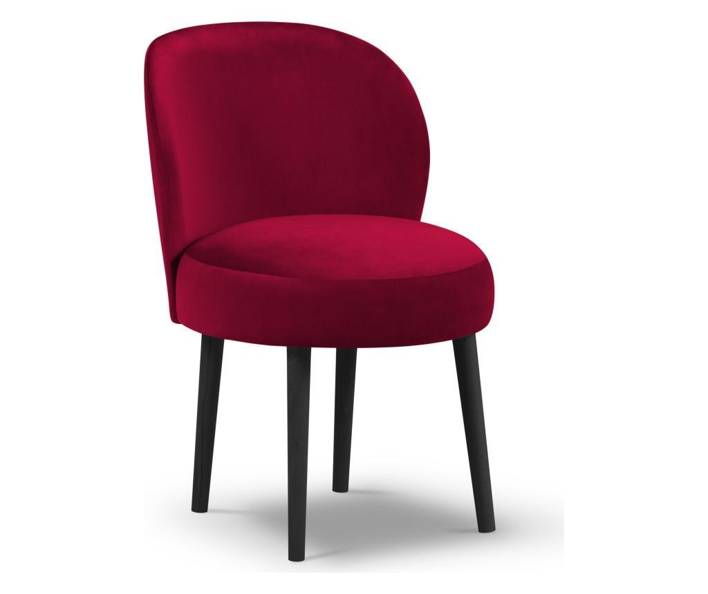 Scaun Velvet Marimba Red