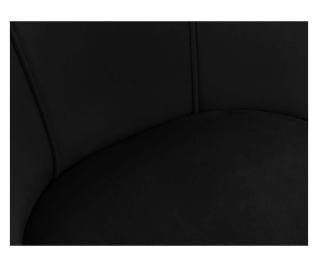 Scaun Velvet Sonata Black