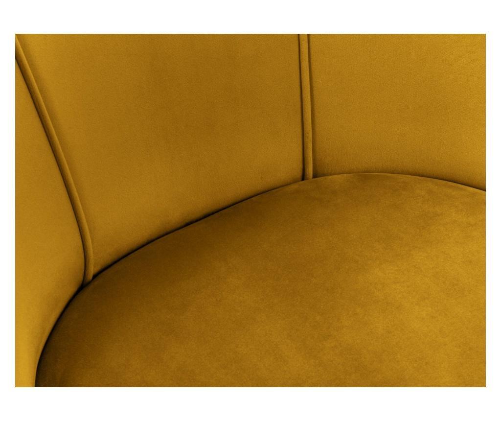 Scaun Velvet Sonata Yellow