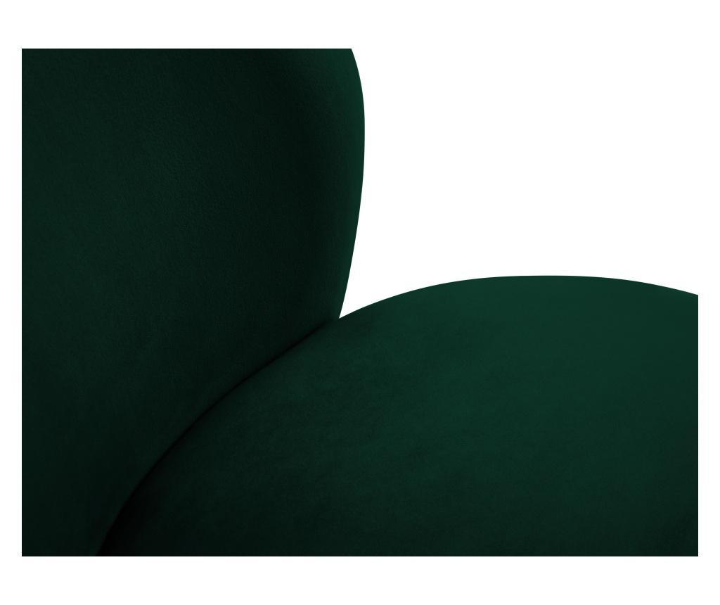 Scaun Velvet Marimba Bottle Green