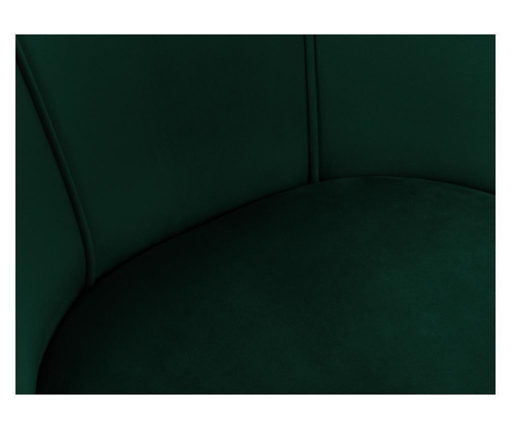 Scaun Velvet Sonata Bottle Green