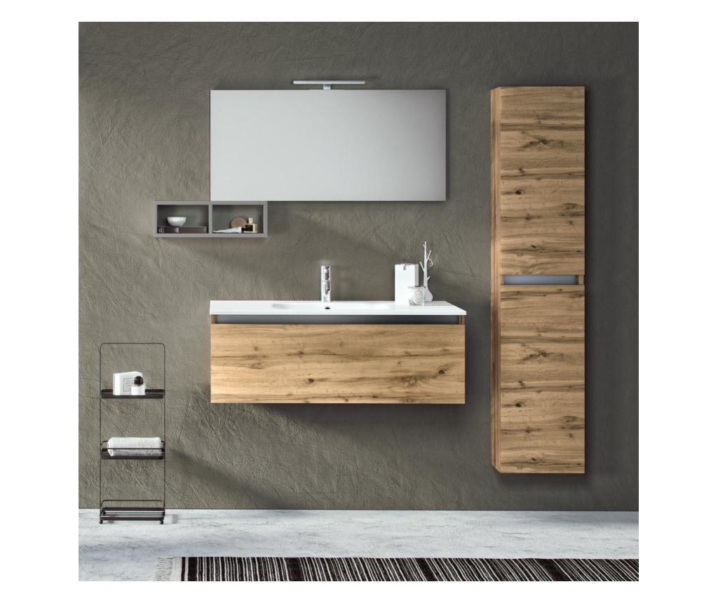 Zestaw mebli łazienkowych 6 części Vanity Perth