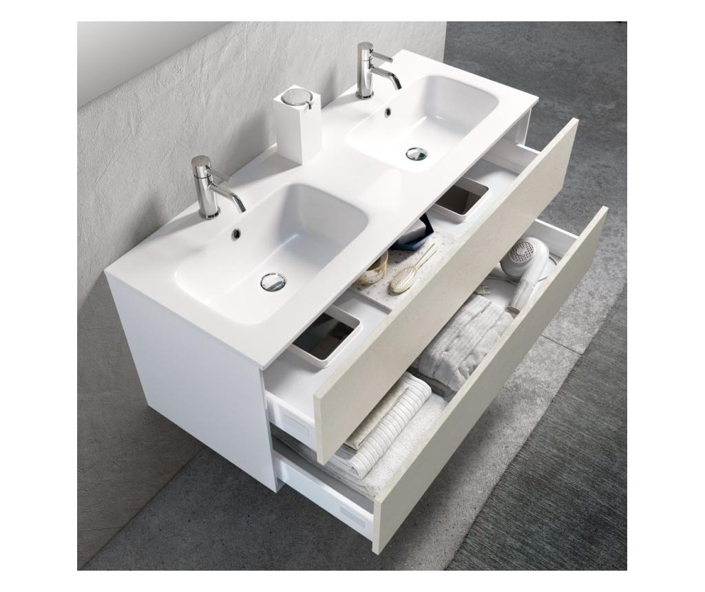 Sada nábytku do kúpeľne 5 ks Double Vanity  Ago