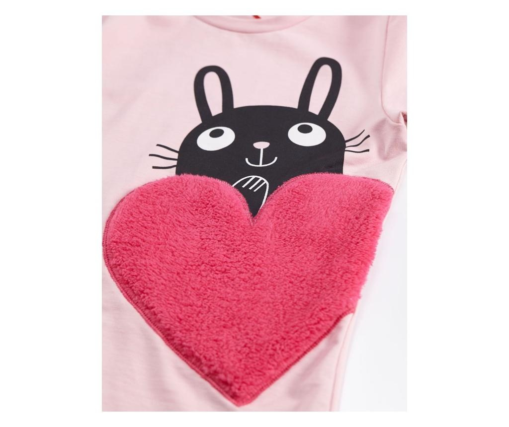 Set bluza si colanti lungi HeartBunny 7 years