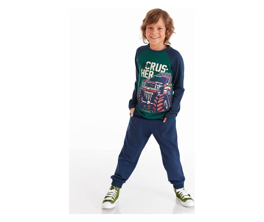 Set bluza si pantaloni Monster Car 4 years