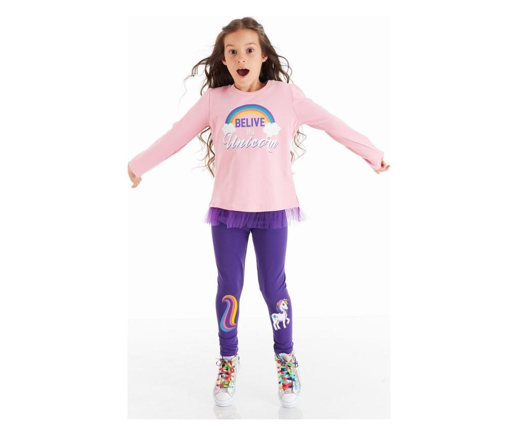 Set bluza si pantaloni Colorful 4 years