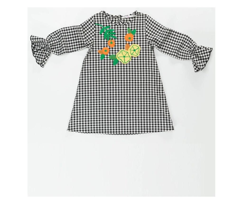 Rochie Floral Checkered 2 years