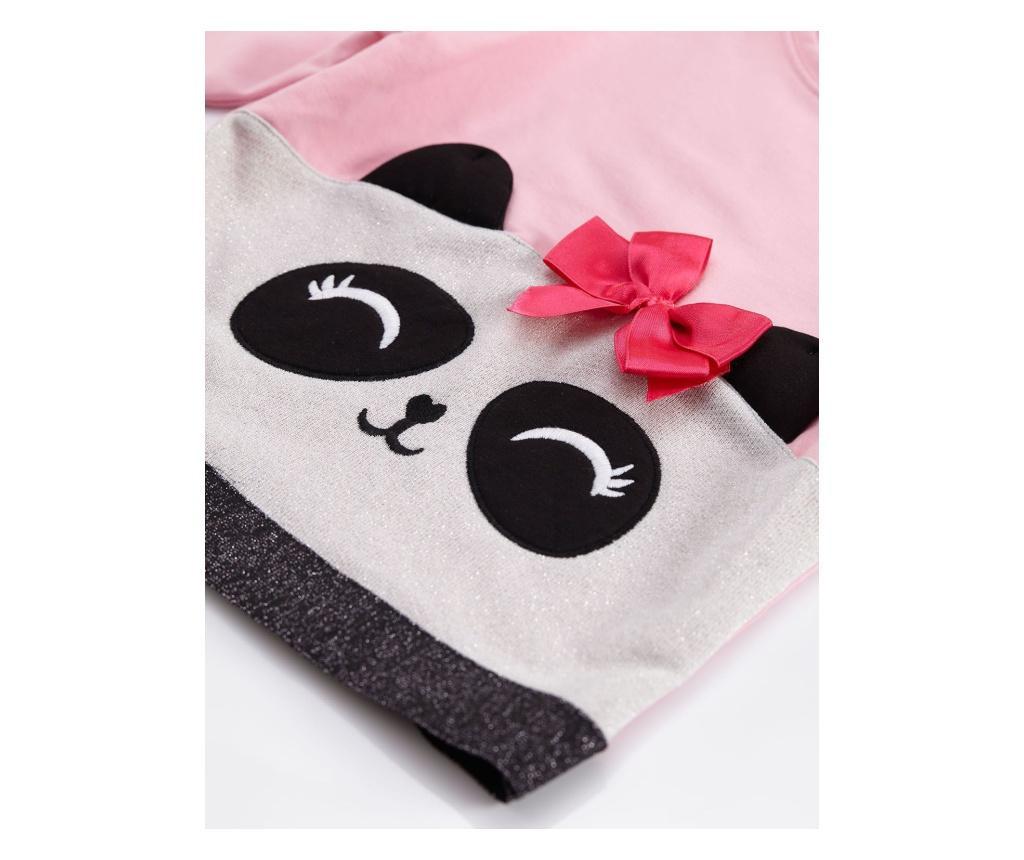 Set hanorac si colanti Silver Panda 8 years