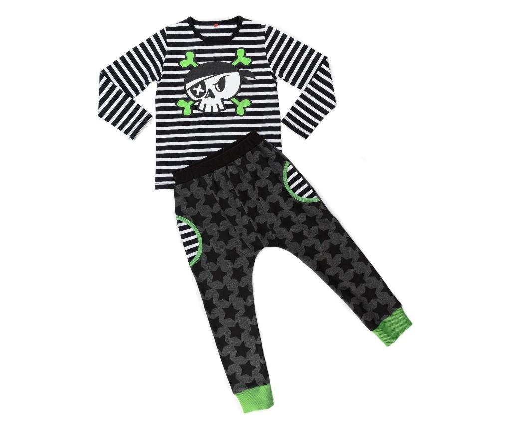 Set bluza si pantaloni Baggy Pirate Skull 4 years