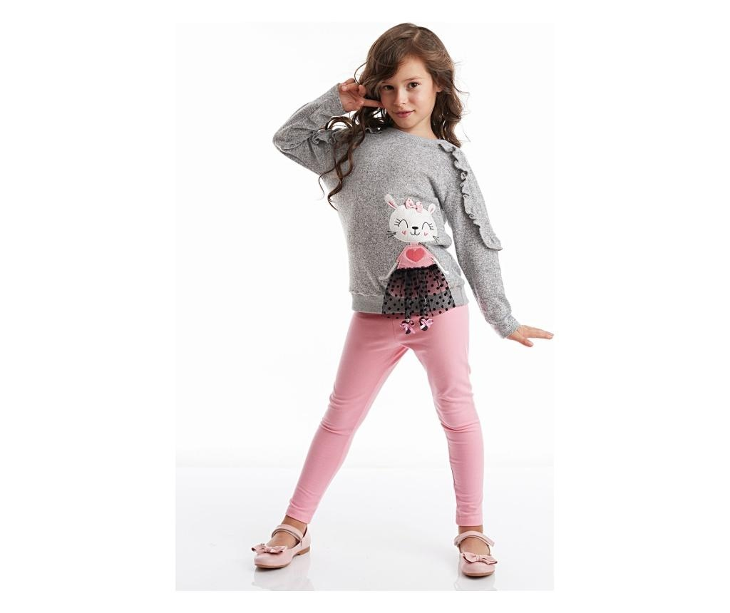 Set bluza si colanti lungi Lily Knitted 8 years